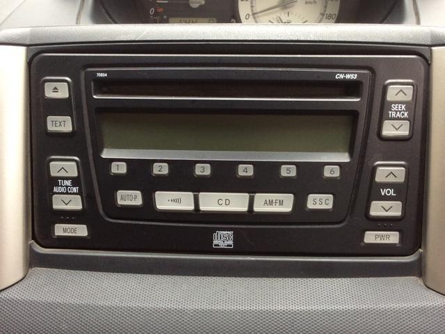 トヨタ イスト 記録簿 CD Wエアバック