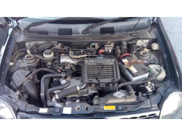 F6Aエンジンはインタークーラーターボ付。