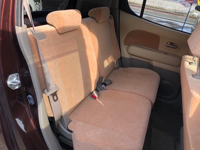 E FOUR 4WD スタッドレスタイヤ付き スマートキー エンジンスターター オートエアコン シートヒーター 社外13インチアルミ 後席分割シート アクセサリーソケット(13枚目)