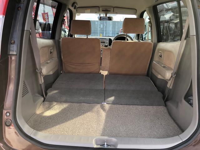 E FOUR 4WD スタッドレスタイヤ付き スマートキー エンジンスターター オートエアコン シートヒーター 社外13インチアルミ 後席分割シート アクセサリーソケット(19枚目)