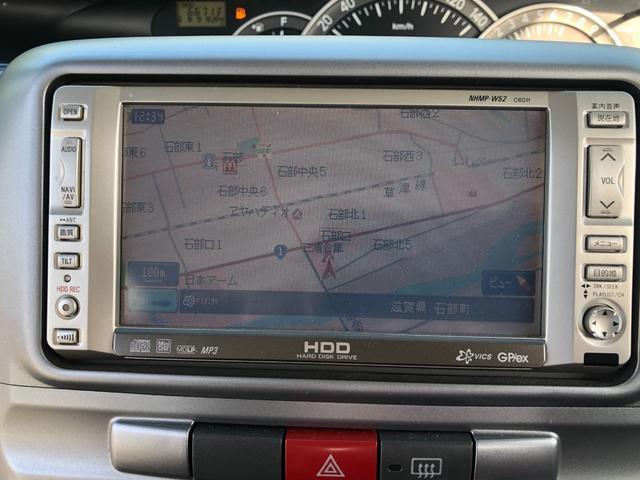 カスタムXリミテッド HDDナビ 左側パワースライドドア スマートキー HIDヘッドランプ(9枚目)
