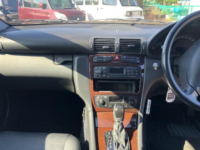 メルセデス・ベンツ M・ベンツ C200コンプレッサーステーションワゴン ダウンサス アルミ