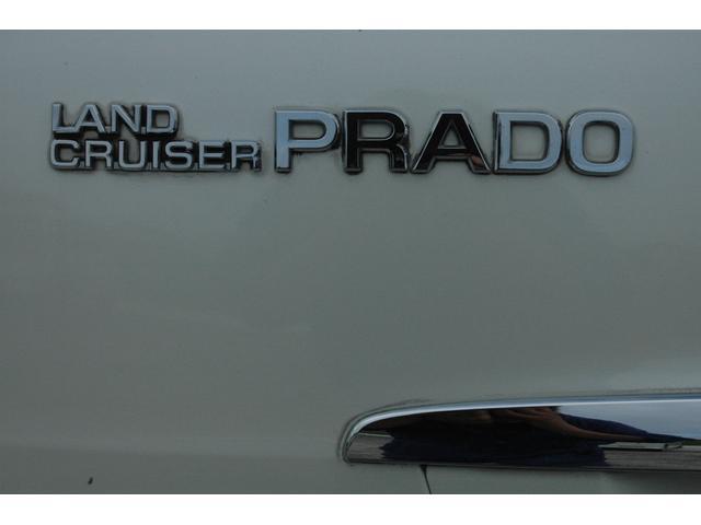 トヨタ ランドクルーザープラド TX ワンオーナー車 純正HDDナビ・Bカメラ・ETC