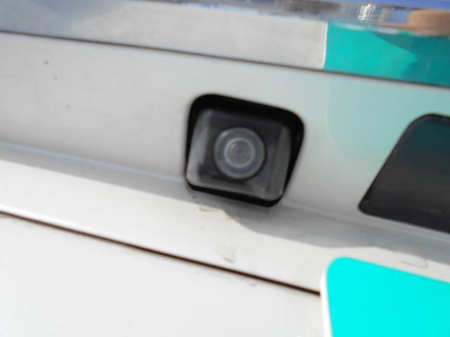 バックカメラで駐車も楽々です!