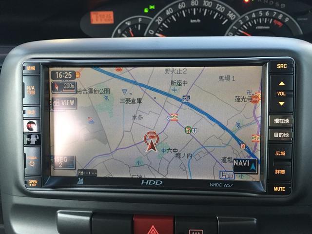 ダイハツ タント カスタムXリミテッド HDDナビ 電動スライド オートAC