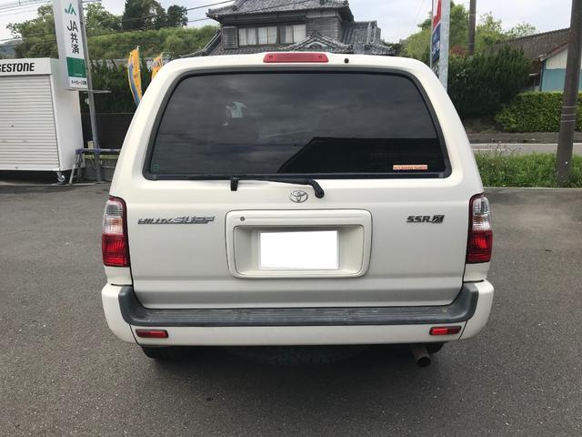 「トヨタ」「ハイラックスサーフ」「SUV・クロカン」「宮崎県」の中古車4