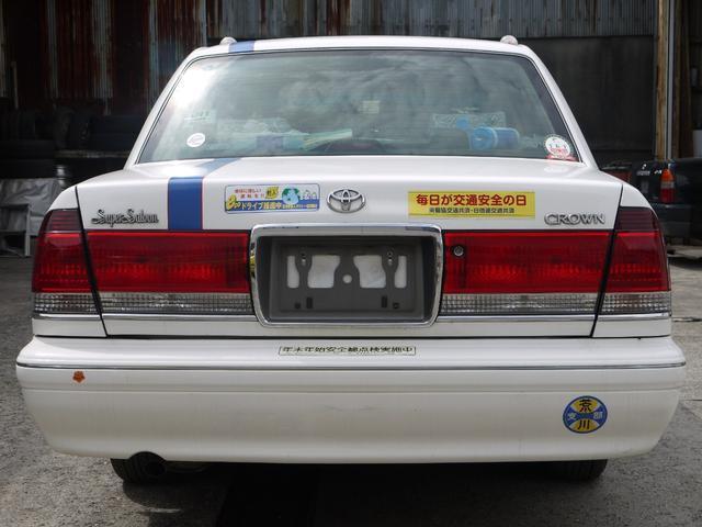 スーパーサルーン タクシーベース車 LPG(9枚目)