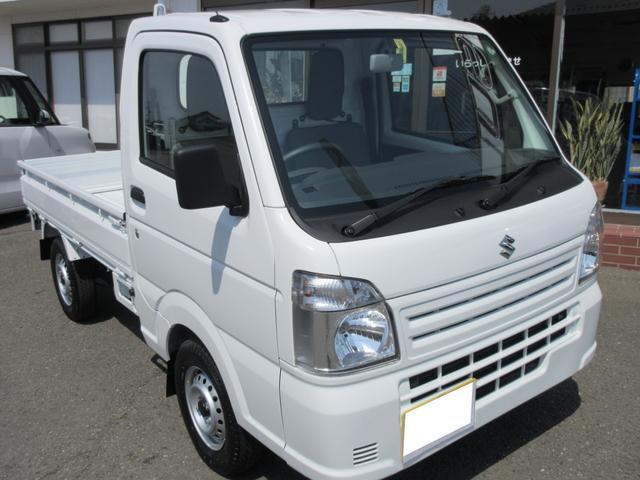 KCエアコン・パワステ 4WD 5MT 届出済未使用車(3枚目)