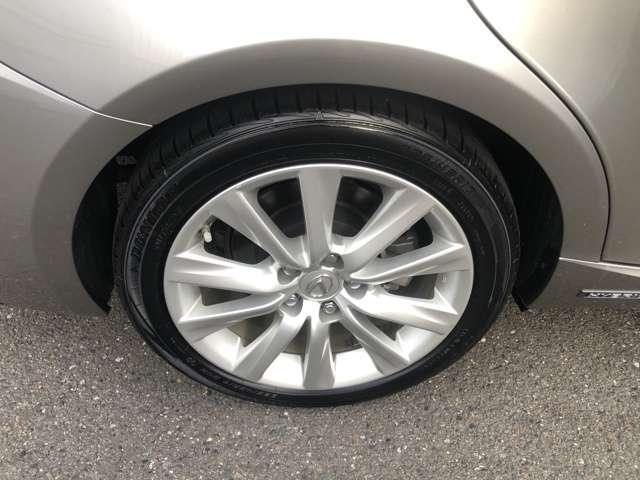 タイヤ溝も大丈夫です。