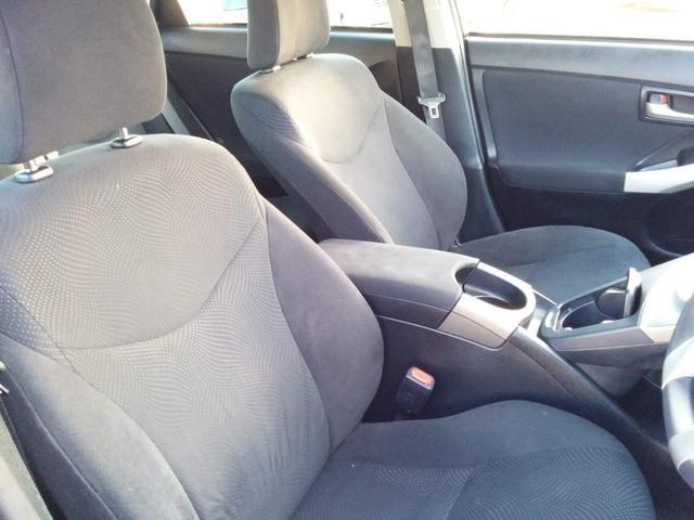フロントシートも良好な状態です。