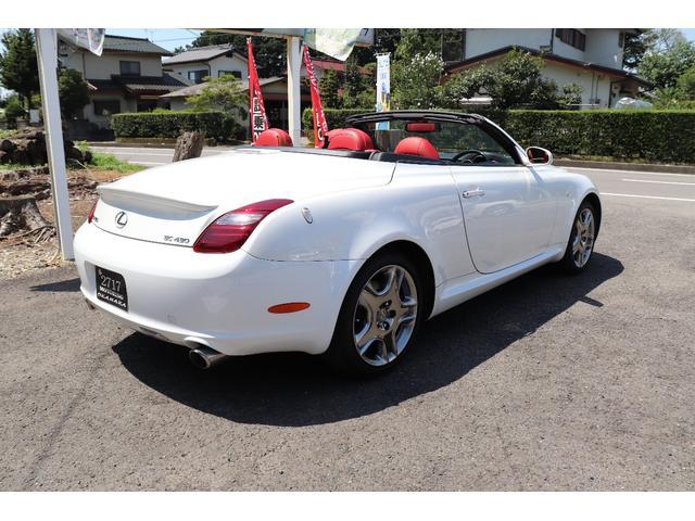 「レクサス」「SC」「オープンカー」「栃木県」の中古車5