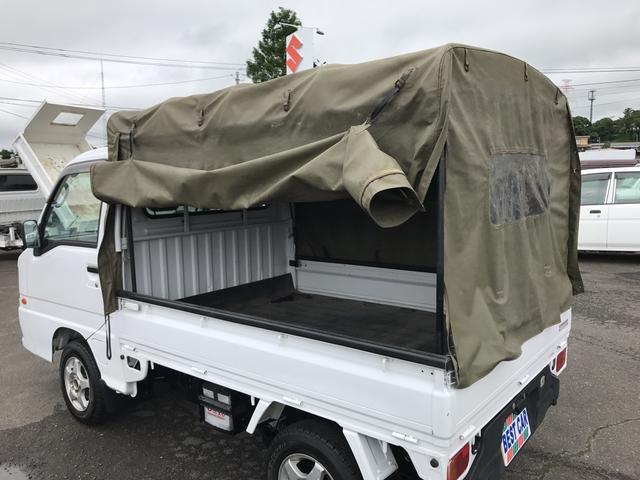 スバル サンバートラック TBクリーン パワステ エアコン付き 4WD