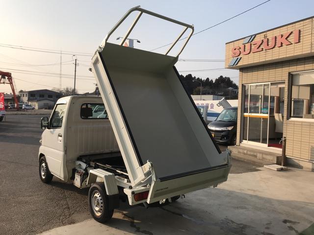 ダンプ エアコン パワステ 4WD 5速マニュアル(3枚目)