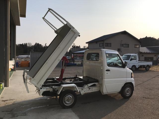 ダンプ エアコン パワステ 4WD 5速マニュアル(6枚目)