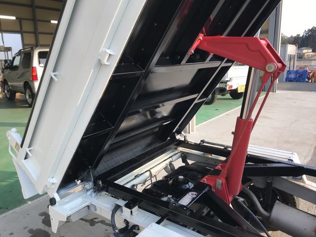 ダンプ エアコン パワステ 4WD 5速マニュアル(19枚目)