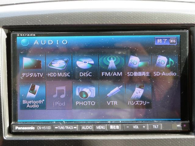 T HDDナビ フルセグ BTオーディオ DVD再生 ETC HID オートライト オートエアコン アイドリングストップ ステアリングスイッチ パドルシフト 純正15AW リモコンキー2個(3枚目)