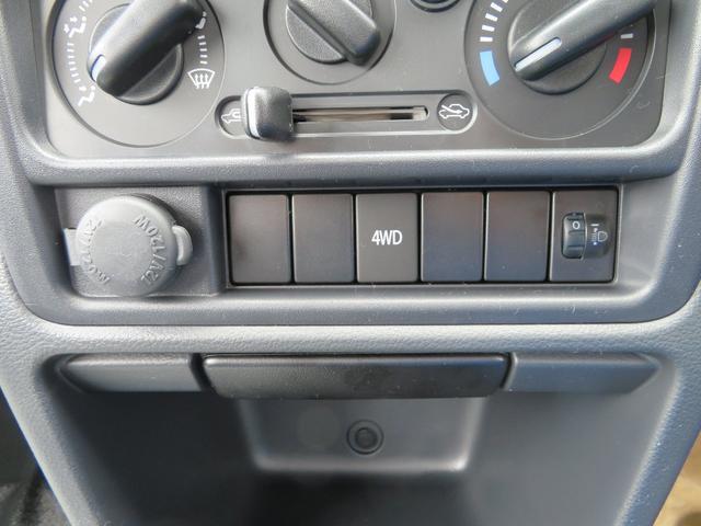 KCエアコン・パワステ 4WD 5MT パワステ エアコン(5枚目)