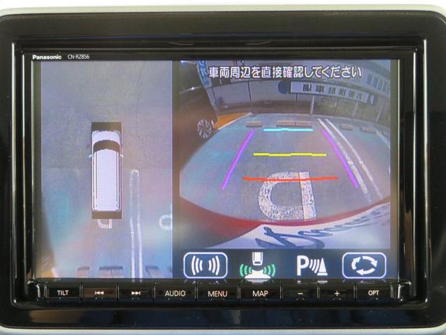 ハイブリッドXS 純正8インチナビ 全方位カメラ ETC 前後ドライブレコーダー セーフティサポート 純正ドアバイザー 純正フロアマット 両側パワースライドドア LEDヘッドライト リモコンキー2個(4枚目)
