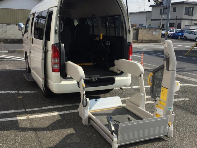 ロングDX車イス移動車 福祉車両 キーレス Bカメラ 記録簿