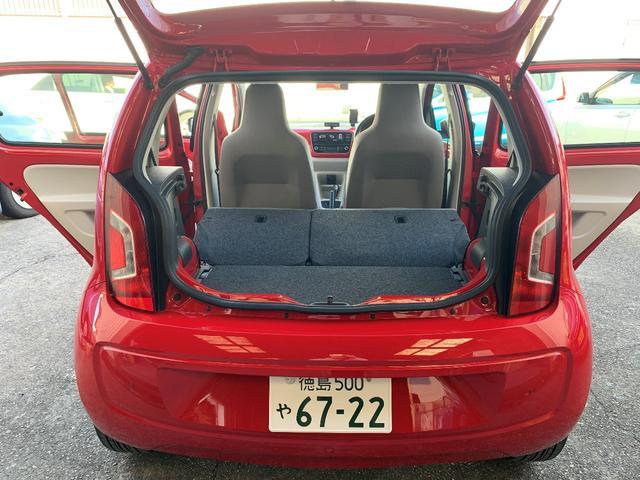 「フォルクスワーゲン」「VW アップ!」「コンパクトカー」「徳島県」の中古車18