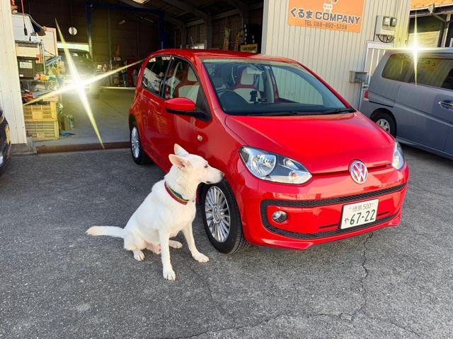「フォルクスワーゲン」「VW アップ!」「コンパクトカー」「徳島県」の中古車34