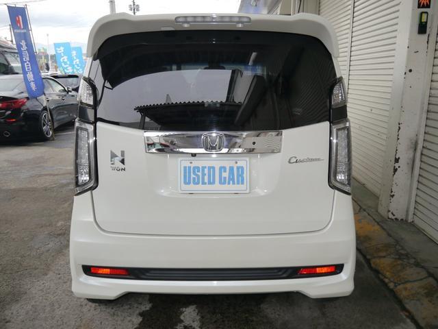 G・ターボパッケージ ワンオーナー・4WD・ターボ・あんしんパッケージ・シティセーフティ・純正SDナビ・バックモニター・ETC・クルーズコントロール・リモコンエンジンスターター・ローダウン・ハーフレザーシート(6枚目)