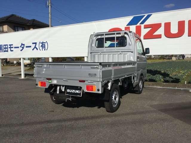 スズキ キャリイトラック KCエアコン・パワステ農繁仕様 3方開 4WD 3型