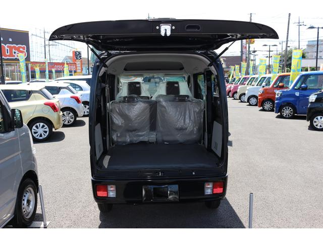 軽自動車最大クラスの荷室スペース。お仕事用で大人気です!