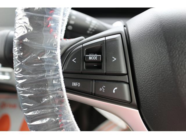 ステアリングスイッチ標準装備です。オーディオの音量、トラック変更までハンドルを握りながら出来てしまいます。ナビ本体に気を取られず、運転に集中出来ます。