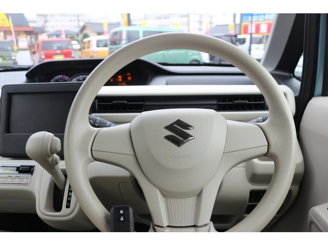 ハイブリッドFX チョイノリ キーフリー アイドリング 前席シートヒーター キ-レス 禁煙 衝突安全ボディ 盗難防止 電格ミラー パワステ ベンチシート オートエアコン オートライト ABS(17枚目)