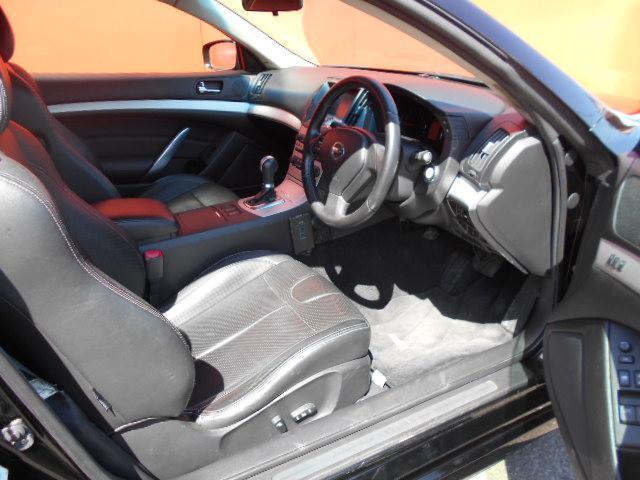 370GT タイプP 黒本革シート 車高調 20インチアルミ(12枚目)