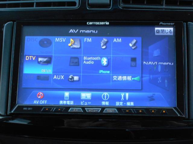 カロッチェリアHDDサイバーナビ フルセグTV ミュージックサーバー DVD再生 Bluetooth接続