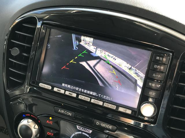 日産 ジューク 15RX 純正HDDナビTV Bカメラ インテリキー ETC
