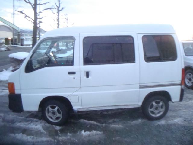 スバル サンバーバン 4WD 社外アルミホイール