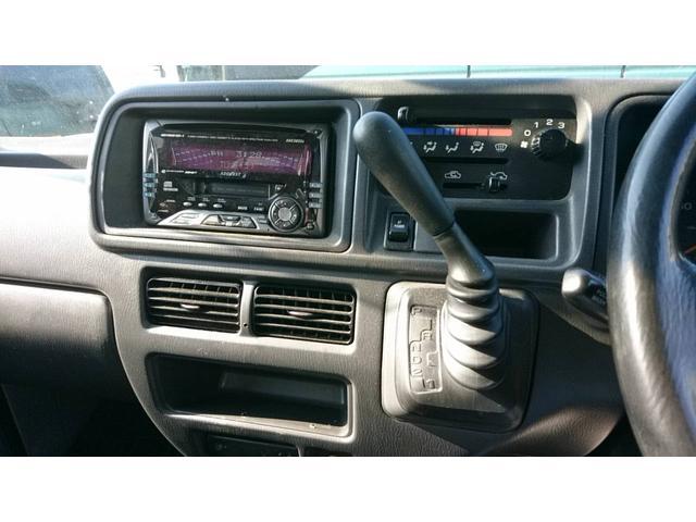 社外CDオーディオは現状CDの動作が不良のため使用できない状態です。ラジオは動作確認済みになります。