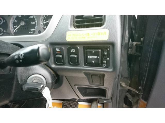 カスタム Sエディション 4WD 社外CD フォグランプ(15枚目)