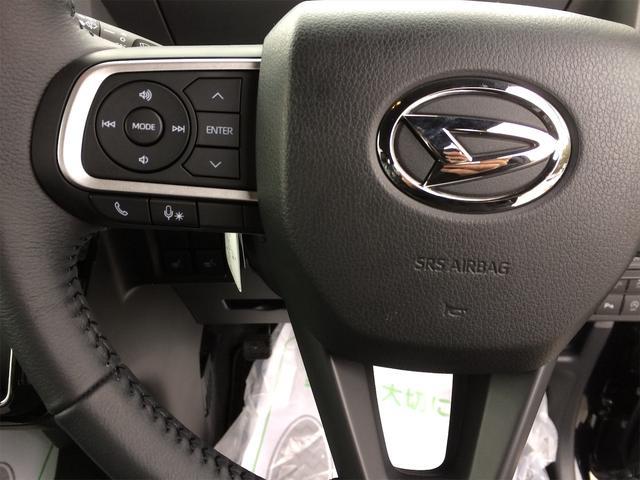 カスタムRS バックカメラ付き シートヒーター 4WD 寒冷地仕様 キーフリー 両側電動スライド ターボ 届出済未使用車 純正15インチアルミ ABS エアバッグ クリアランスソナー 軽自動車(14枚目)