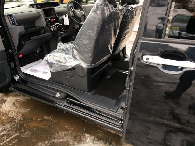 カスタムRS バックカメラ付き シートヒーター 4WD 寒冷地仕様 キーフリー 両側電動スライド ターボ 届出済未使用車 純正15インチアルミ ABS エアバッグ クリアランスソナー 軽自動車(21枚目)
