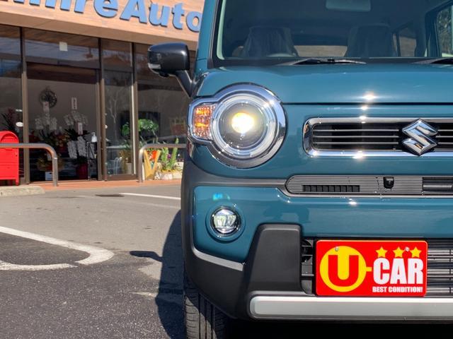 ハイブリッドXターボ 届出済未使用車 禁煙車 衝突軽減ブレーキ 9インチ全方位モニター LEDライト ターボ車(4枚目)