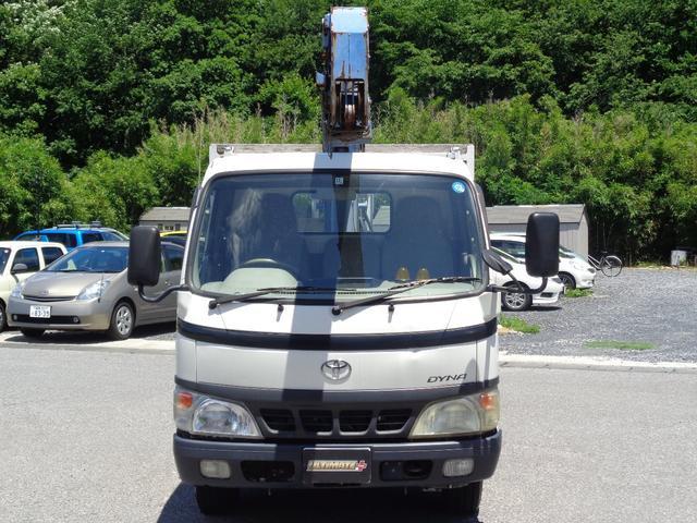 タダノ3段クレーン ラジコン付 標準ボディ 積載2トン(5枚目)
