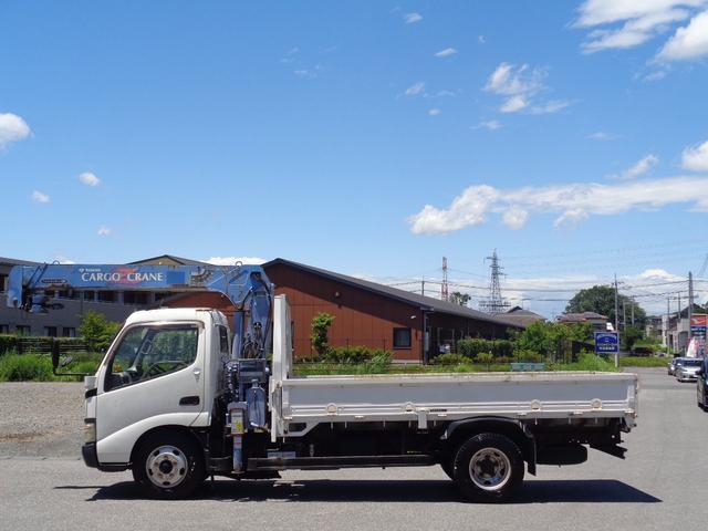 タダノ3段クレーン ラジコン付 標準ボディ 積載2トン(6枚目)