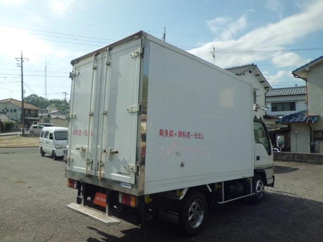 4.8ディーゼル -30°低温冷凍車 サイド扉付き 4WD(8枚目)