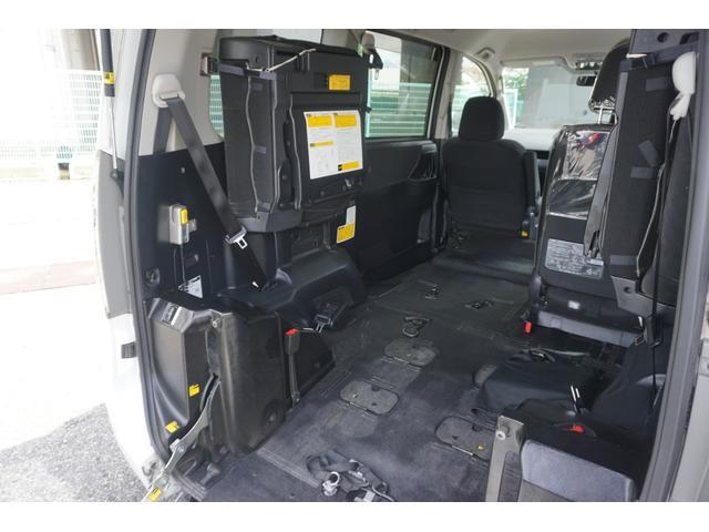 スローパー 車椅子2脚仕様 サードシート付 電動ウィンチ(16枚目)
