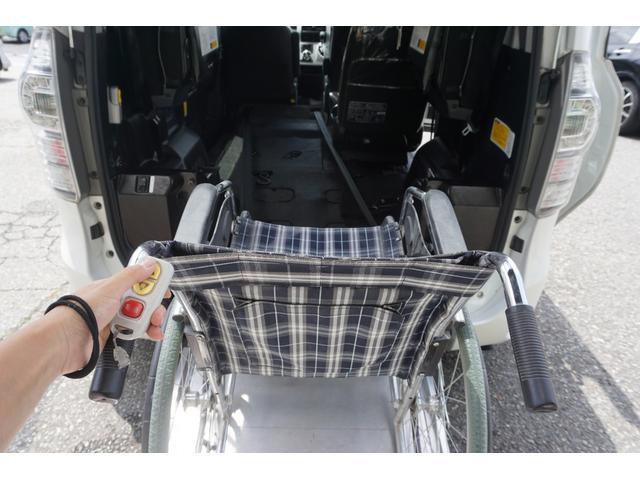 スローパー 車椅子2脚仕様 サードシート付 電動ウィンチ(17枚目)
