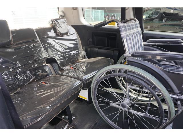 スローパー 車椅子2脚仕様 サードシート付 電動ウィンチ(21枚目)
