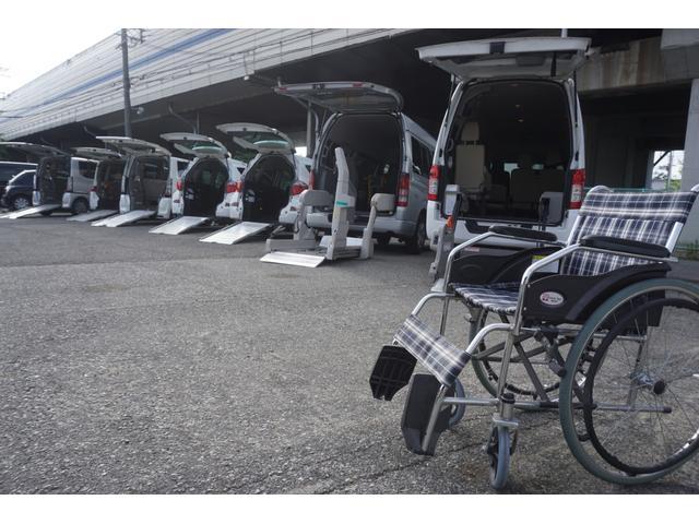 スローパー 車椅子2脚仕様 サードシート付 電動ウィンチ(33枚目)
