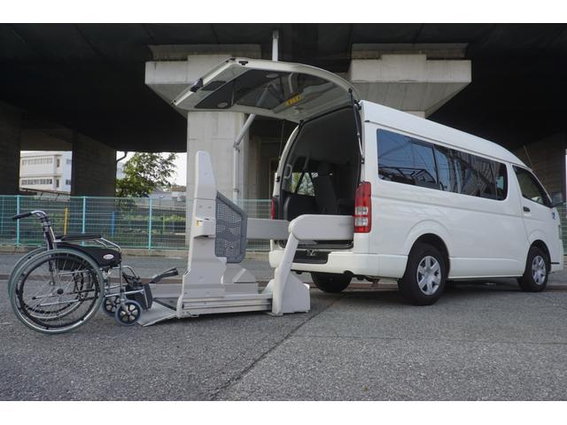 ロングDX 車椅子2脚仕様 Bタイプ パワーリフト(2枚目)