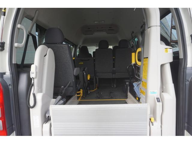 ロングDX 車椅子2脚仕様 Bタイプ パワーリフト(9枚目)