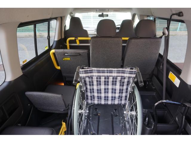 ロングDX 車椅子2脚仕様 Bタイプ パワーリフト(13枚目)