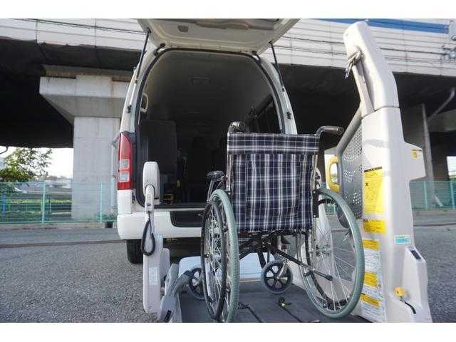 ロングDX 車椅子2脚仕様 Bタイプ パワーリフト(16枚目)